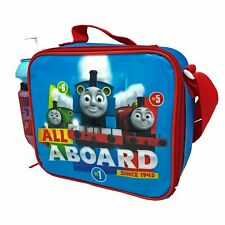 Insulated Lunch / Cool Bag with Shoulder Strap and Bottle - Thomas