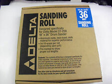 Delta 36 Grit Aluminum Oxide Resin Bond Cloth 36 Grit Sanding Roll # 31-822