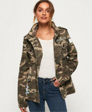 Superdry Womens Rookie Embellished Military Jacket