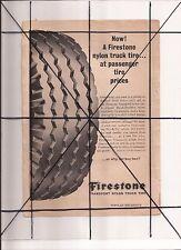 Vintage 1965 Popular Mechanics Magazine Ad A11 Firestone Tires Lucite Dupont