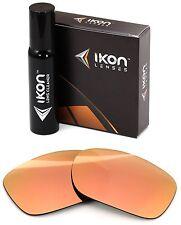 Polarizados Ikon iridio lentes de repuesto para Oakley Twoface XL oro Rosa