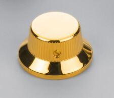 Schaller Germany Set of Three (3) Strat Knobs, Gold 15010500