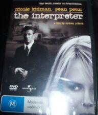 The Interpreter (Nicole Kidman Sean Penn)(Australia Region 4) DVD – New
