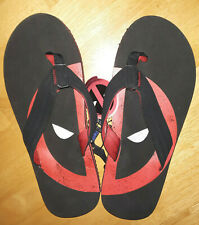 Marvel Deadpool flip flops, Men's size 13/14, NWT