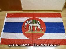 Banderas bandera tailandia marine impresión digital - 90 x 150 cm