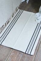 Nostalgie Vintage Teppich Läufer Dusty Streifen 60x90 cm Jeanne d´Arc living NEU