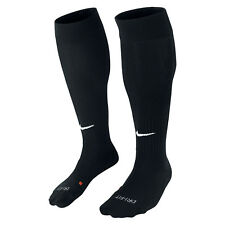 2x Nike Classic Cushioned Knee High Socks Football Size38-42 Black M DriFit
