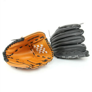 """10.5"""" 11.5"""" 12.5"""" Baseball Softball Gloves Mitts Right Hand Thrower Youth Adult"""