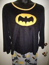 Batgirl Batman MicroFleece Pajamas 2 Piece Set Women's Size 2X 18-20W Super Hero