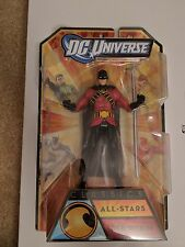 DC UNIVERSE Classics All-Star RED ROBIN Action Figure Sealed VHTF by Mattel toy