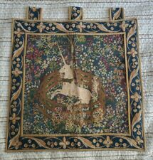 Unicorn In Captivity Tapestry Wall Hanging Medieval France William Morris