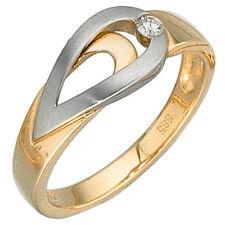 Echtschmuck aus Gelbgold mit 54 (17,2 mm Ø) Diamant