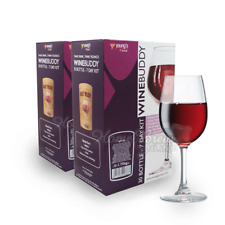 WineBuddy TWIN PACK 30 Bottle Home Brew Red Wine Refill Ingredient Kits - Merlot