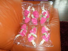 NEW 6 PAIR OF JOY MANGANO FOREVER FRAGRANT SHOE SHAPERS HOT PINK