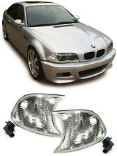 Par Indicadores Transparentes Para Bmw E46 Serie 3 Facelift Coupé y convertible