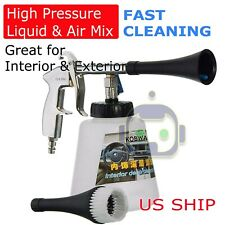 High Pressure Air Pulse Car Cleaning Gun Surface Interior Exterior Tornado Tools