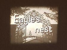 LOOK AT LIFE - HITLER'S EAGLES NEST SUPER 8 B/W 200FT SILENT CINE 8MM FILM