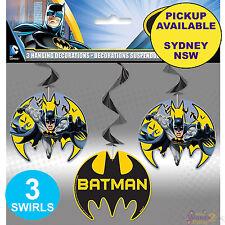 70cm Hanging Batman Decorations 3ct. Unique Industries. Is