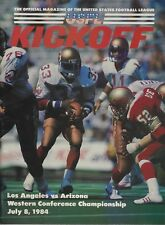 1984 USFL WESTERN CONFERENCE CHAMPIONSHIP LOS ANGELES AT ARIZONA- STEVE YOUNG
