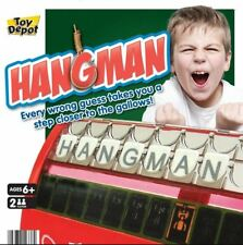 Hangman Fun Word Letter Retro Traditional Board Game Kids Family Travel Gift Toy