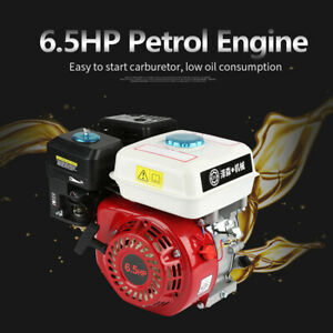 Petrol Engine 6.5HP Pull Start 168F OHV Replacement 196cc Air Cooled 4 Stroke
