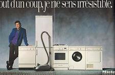 Publicité 1987  ( Double page )  MIELE lave vaisselle lave linge four frigo ...