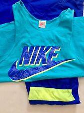 Vintage Nike Air Jacket Windbreaker Nylon Set Suit 80s 90s Jordan Rap Hip Hop