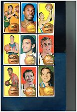 1970-71 Topps Basketball complete and partial team sets   Your choice!  Grp 2