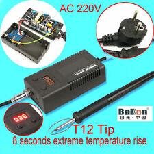 EU plug BK950D Digital 220V Soldering Irons Station Controller &T12 Heating Core