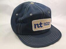 Vintage 1st Northern Telecom Patch Hat Dark Blue Snapback Baseball Cap