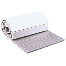 6m² Tackerplatte Rolljet 25-3 mm Fußbodenheizung Trittschall- Dämmung Dämmmatte