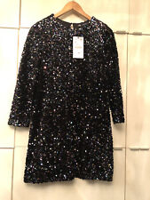 zara sequin Dress In Size L