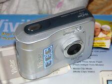 Vivitar ViviCam 3750 3.0 MP - Digital Camara - Plateado
