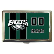 Philadelphia Eagles NFL Personalized Cigarette Wallet Money Case Gift
