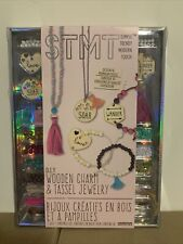 Stmt Diy Wooden Charm And Tassel Jewelry Kit