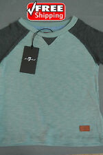 7 FOR ALL MANKIND Shirt TEAL Short-Sleeve Boy/Girls Size 24 Months *NWT*