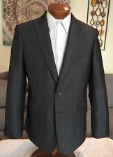 NEW Stunning English Laundry Mens Wool Gray 2 Vent Slim Fit Suit Sz 44 R