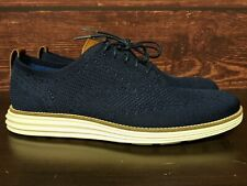Cole Haan OriginalGrand Stitchlite Wingtip Oxford navy shoes (C27960) Men's 10