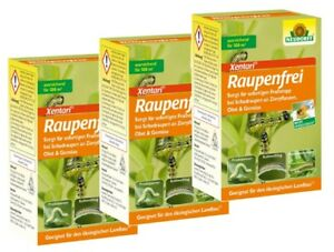 Neudorff Raupenfrei XenTari 3er Sparpack 3 x 25 g gegen Buchsbaumzünsler, Raupen