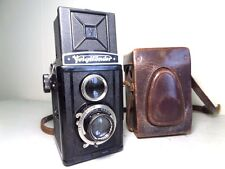Vtg VOIGTLANDER BRILLIANT in CASE - Superb Condition - Voigtar 3.5/75mm Lens