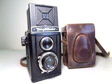 Vtg VOIGTLANDER BRILLIANT in CASE - Superb Condition - Voigtar 3.5/75mm Lens
