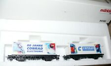 H5 Märklin  94186  Wagenset Container 80 Jahre Conrad