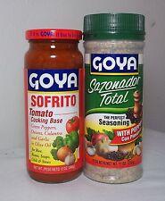 Puerto Rico Seasoning Total Pepper Sofrito Goya Spice Bouillon Spanish CookingO