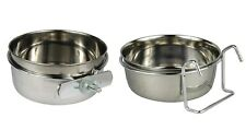 Coop Cup Bowl for Dogs & Pets - Kennel Crates Cage - Bolt or Hook Design !