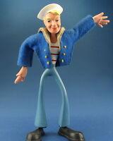 SCHLEICH Biegefigur - Matrose mit Kleidung - 14,5 cm  - ca. 1958 - Figur Bendy