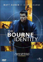 DVD The Bourne Identity (2002) Matt Damon Film Azione Thriller Cinema Movie
