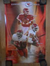 Kansas City KC Chiefs Football Poster ~ Trent Green Priest Holmes Dante Hall