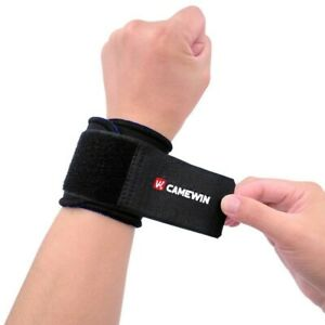 Wrist Support Strap Neoprene Brace Adjustable Sports Gym Arthritis Weak Sprains