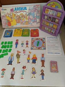 1996 Milton Bradley Arthur Goes to The Library Game Replacement Pieces