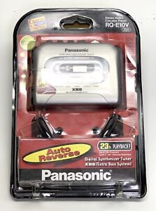 Panasonic Personal AM/FM Stereo Cassette Player Model RQ-E10V Silver XBS New